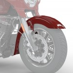 Aripa fata deschisa Indian Motorcycle Red