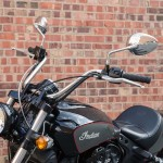 Reduced Reach Handlebar Polished Stainless Indian Scout