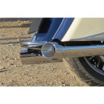 Rear Fender Bumper Chrome