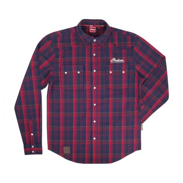 Camasa Men's Script Logo Plaid Shirt