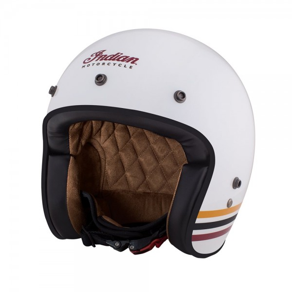 Casca White Retro Open Face Helmet by Indian Motorcycle