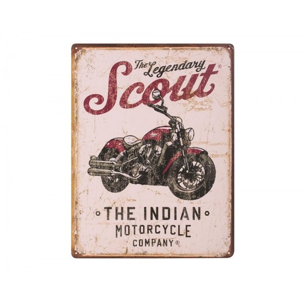 Panou decorativ Scout Motorcycle