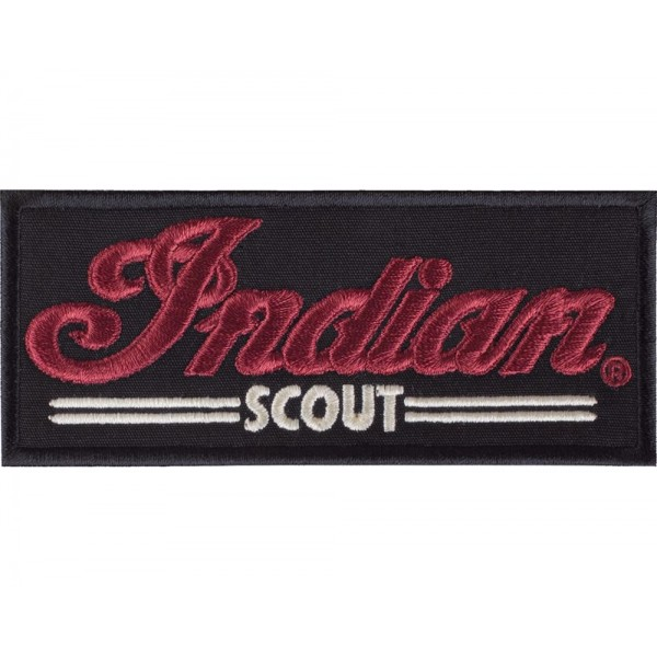 Patch Indian Scout Black