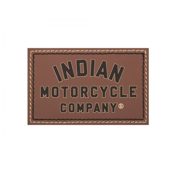 Patch din piele Indian Motorcycle Brown