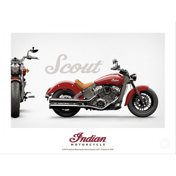 Poster Indian Scout