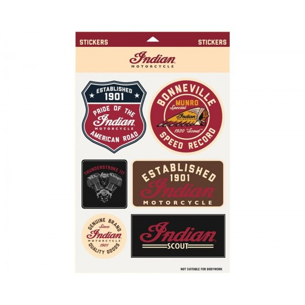 Set stickere Indian Motorcycle