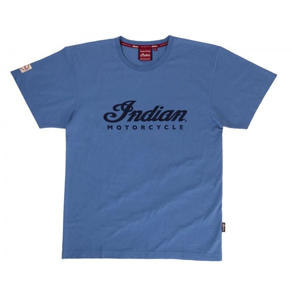 Tricou Indian Men's Logo Tee - Blue