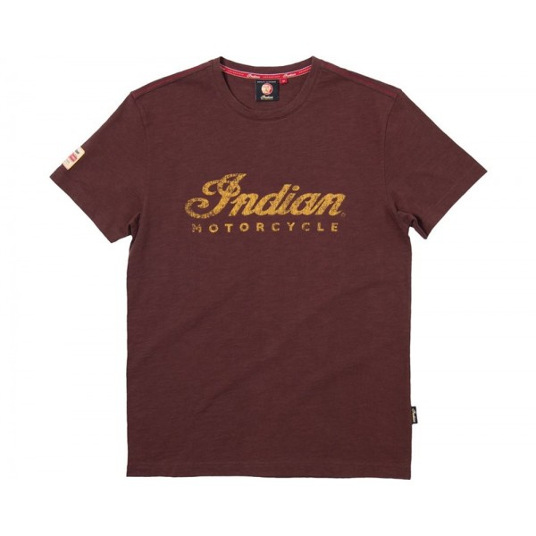 Tricou Indian Men's Logo Tee - Brown
