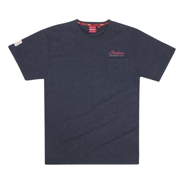 Men's Script Icon Tee - Charcoal