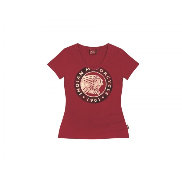 Tricou Indian Women's Icon Red Tee